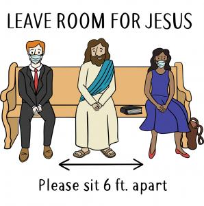 Leave room for Jesus. Family-friendly. Souderton Brethren in Christ Church. Bible based.