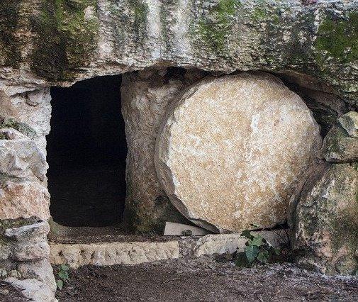 Easter sunrise service 2021 empty tomb